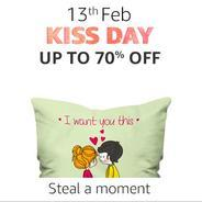 13th Feb. Kiss Day Toys - Get Upto 70% OFF | Amazon Offer