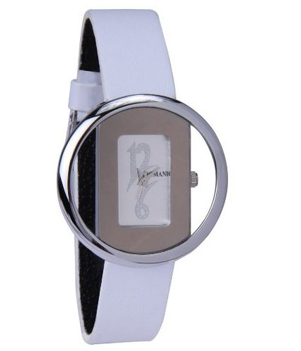 76% OFF on Romanio L1505 White Soothing Women's Watch