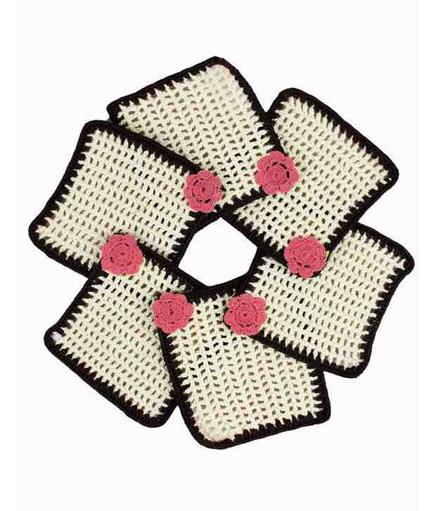 Mokanc Handmade Crochet Coasters
