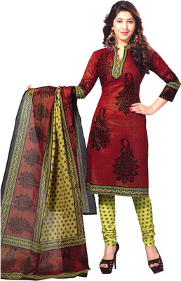 58% Off on Reya Cotton Printed Dress