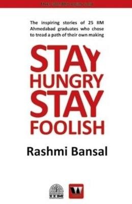 Stay Hungry Stay Foolish (English) Novel at Rs 105.