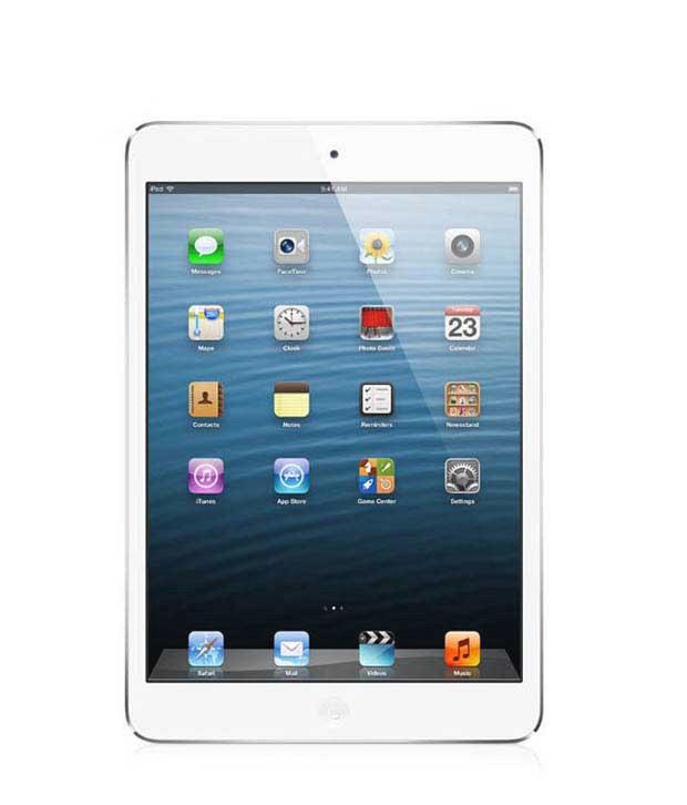 Apple iPad mini with Wi-Fi 16GB - White & Silver + Free 3G Data Sim