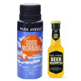 Park Avenue Good Morning Deodorant + Park Avenue Beer Shampoo Free