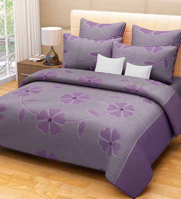 Home Candy Floral Cotton Flat Double Bedsheet