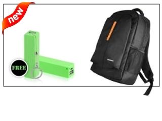 Buy lenowo bag & Get Power bank free