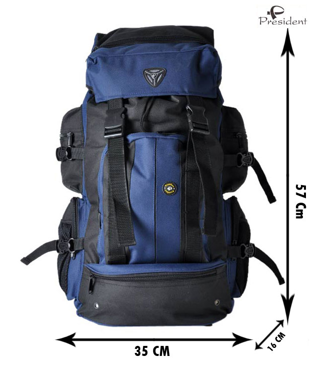 Blue & Black Backpack at Rs 764.