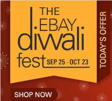 Ebay 100% Cashback upto Rs1000 -Diwali Cashback