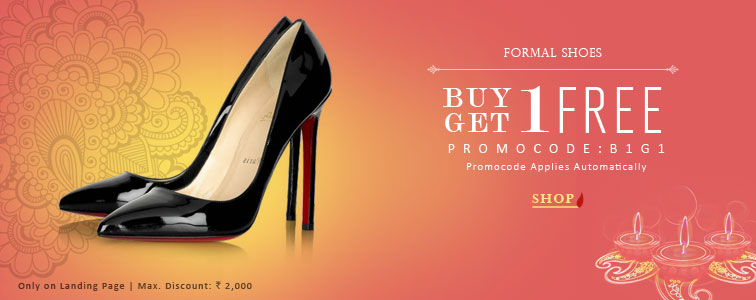 Buy 1 Get 1 on Women's Formal Shoes