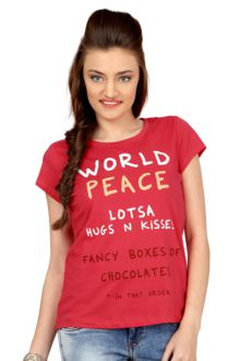 Upto 50% off on Tees - Starting from Rs 150/-