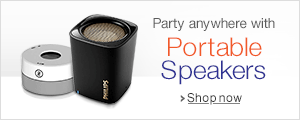 Portable Speakers Starting at Rs 398.
