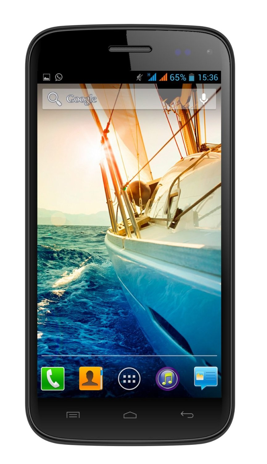 Micromax Canvas Turbo Mini A200 (Black)- Limited Time Price, Lowest Online