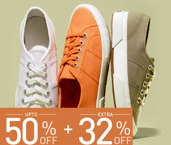 Footwear Sale @ Jabong upto 50% off Plus Extra 30% Off- Use Coupon