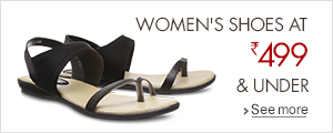 Women Shoes at Rs 499 and Under.