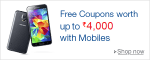 Free Coupons worth Rs 4000 with Mobile Phones.