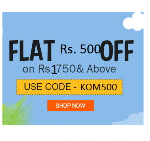 Kids & Baby Products Rs.500 Rs off on Rs.1750- Babyoye Coupon