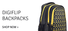Digiflip backpacks Upto 64% Off Starting at 199 Rs