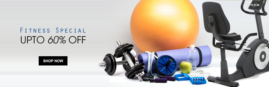 Fitness Special -Upto 60% Off on GYM Products