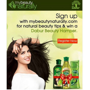 Free Dabur Beauty Hamper for First 1000 participants()