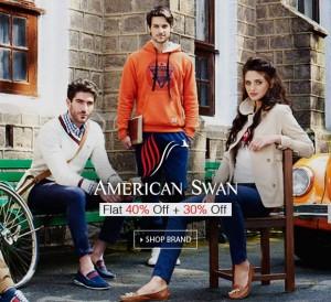 Flat 200 on All Orders @ American Swan