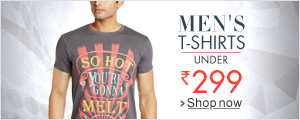 Men Tshirts Under Rs 299.
