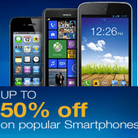 Mobiles upto 50% off @ Amazon