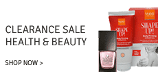 Beauty and Personal Care Clearance Sale