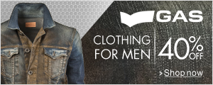 Men Clothing Flat 40% Off