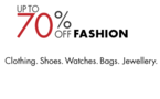 Amazon : Get Upto 70% off on Clothing, Footwears & Accessories starting from 45/-