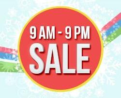 Exciting Offers every Hour ( 9th Jan, From 9 AM Onwards)