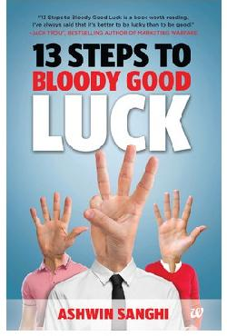 13 Steps To Bloody Good Luck Book Rs 55 : Free Shipping & COD
