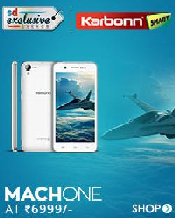 Karbonn MACHONE in India at Rs 6990 on Snapdeal