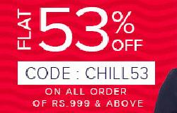 Chill Out Sale - Flat 53% Off