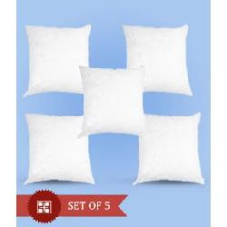 Pack of 5 cushions 12 x 12 inch Rs 123