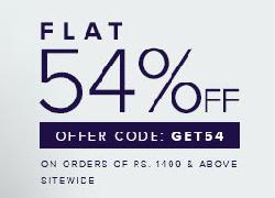 Throwback Thursday Sale - Flat 54% Off