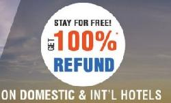 100% Refund on Hotel Booking on Goibibo : See Details