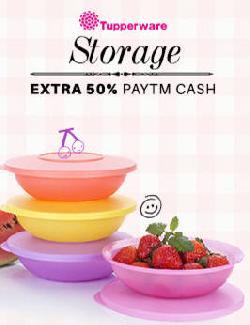 Paytm Extra 50% Off On Tupperware