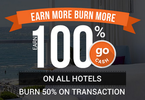 Goibibo - Earn 100% goCash on all hotels