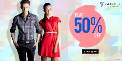 VAN HEUSEN Clothing at Flat 50% OFF from Rs 188.