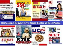 Get 80% Cashback on Competitive Exam Books.