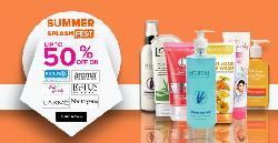 Upto 50% OFF on Face Washes + Extra 15% Cashback.