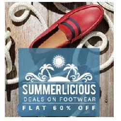 60% Cashback on Reebok, Puma, Clarks & More Footwear.