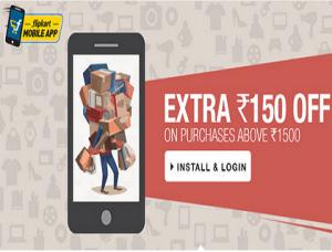 Rs.150 off on Rs. 500 on Flipkart via PayuMoney.
