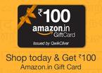 Amazon Shop Today & Get Rs 100 amazon gift Voucher (No Minimum purchase)