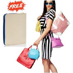 Handbags & Clutches upto 60% off + Free Covo Wallet worth Rs. 599