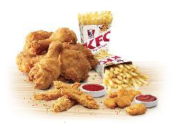 20% OFF on KFC on Minimum Order of Rs 400