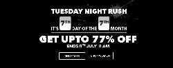 7th Day OF 7th Month Flat 80% OFF on Jabong