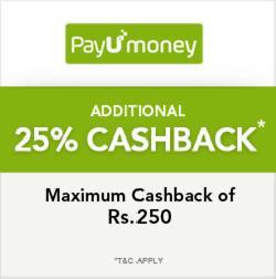 Trendin Get 25% cashback via Payumoney