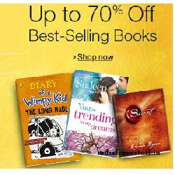 Amazon Book Sale from 29 Sep to 1st Oct Upto 70% OFF