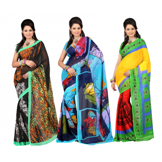 Sarees Flat 70% OFF on Snapdeal