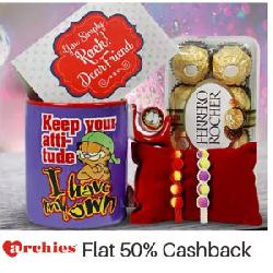 50% Cashback on Archies Store on Paytm: Diwali Gift Hampers & More.
